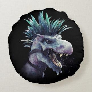 Hungry Predator Polyester Round Throw Pillow