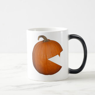 Hungry Pumpkin 11 Oz Magic Heat Color-Changing Coffee Mug