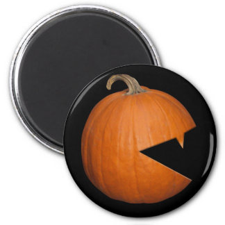 Hungry Pumpkin 2 Inch Round Magnet