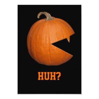 Hungry Pumpkin 5x7 Paper Invitation Card