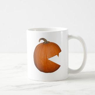 Hungry Pumpkin Classic White Coffee Mug
