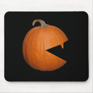 Hungry Pumpkin Mouse Pad