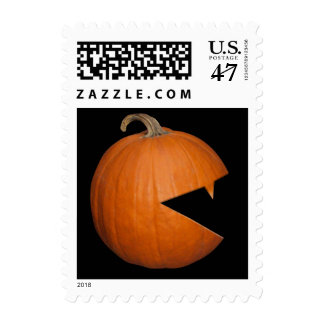 Hungry Pumpkin Postage