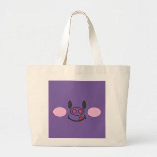 Hungry Purple Canvas Bag