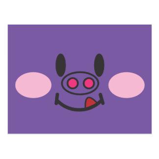 Hungry Purple Postcard