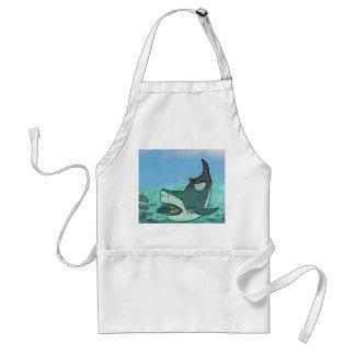 HUNGRY SHARK ADULT APRON