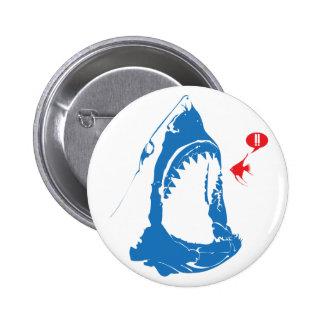 Hungry Shark Pinback Buttons