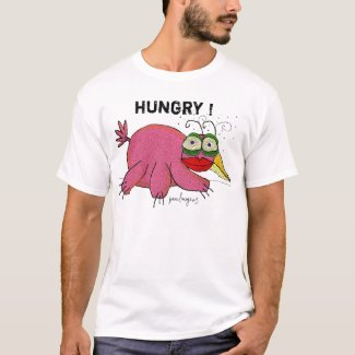 hungry ! - shirt