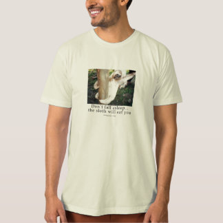 Hungry sloth t-shirt
