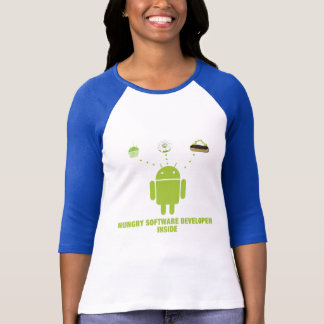 Hungry Software Developer Inside (Android) T-Shirt