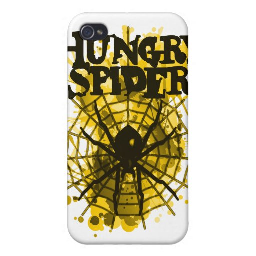 Hungry_Spider Case For iPhone 4