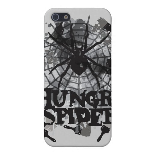 Hungry_Spider iPhone 5 Cases