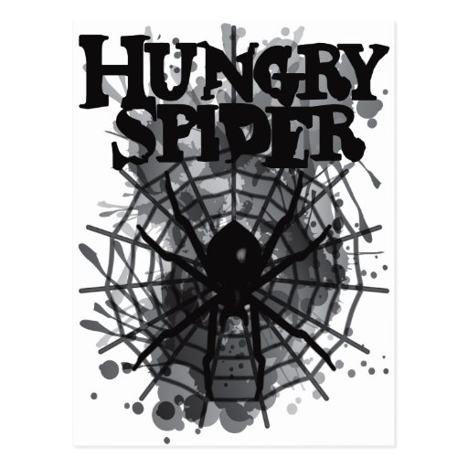 Hungry_Spider Postcard