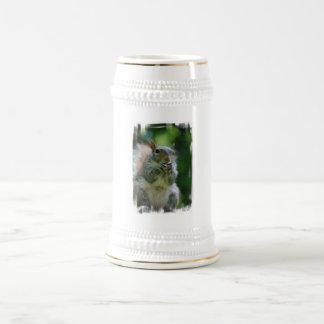Hungry Squirrel Beer Stein Coffee Mug
