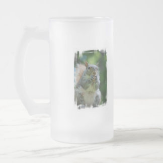 Hungry Squirrel Frosted Mug