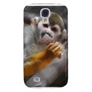 Hungry Squirrel Monkey iPhone 3G Case Samsung Galaxy S4 Cases