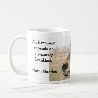 Hungry Tom Classic White Coffee Mug