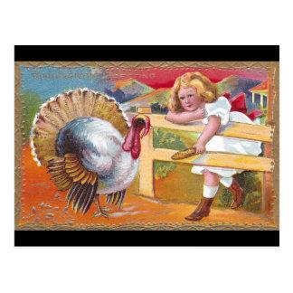Hungry Turkey Postcard