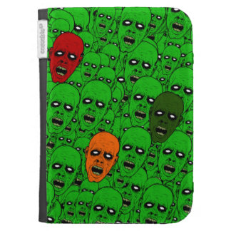 Hungry Undead Zombie Heads Kindle Keyboard Covers