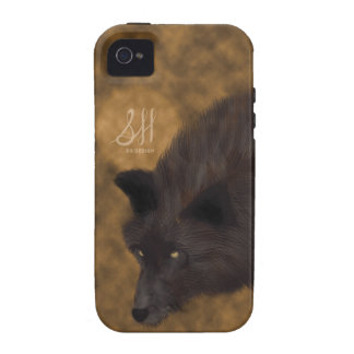 Hungry Wolf Case-Mate iPhone 4 Covers