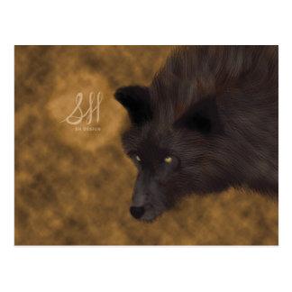 Hungry Wolf Postcard