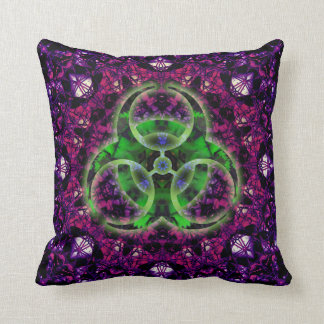 Hungry Zombie Apocalypse Pillow