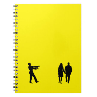 Hungry Zombie Spiral Notebooks