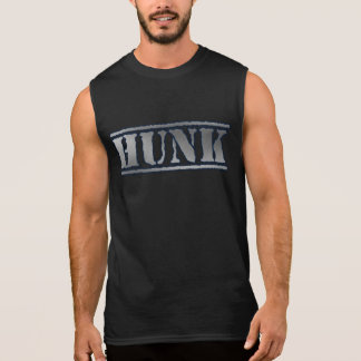 Hunk huge muscular handsome atheletic strong sleeveless shirt