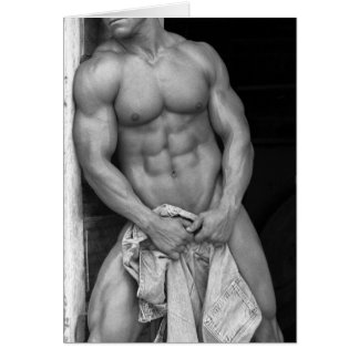Hunk Notecard Stationery Note Card