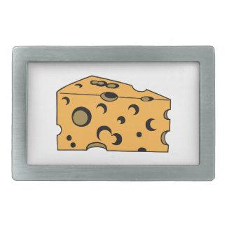 Hunk of Swiss Cheese Belt Buckles