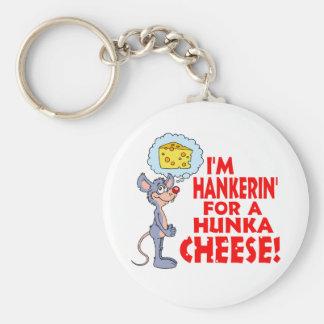Hunka Cheese Keychain