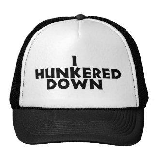 hunker abajo el gorra