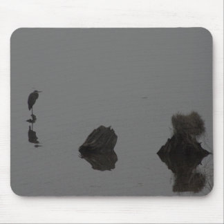 Hunkering down through the drizzle mouse pad