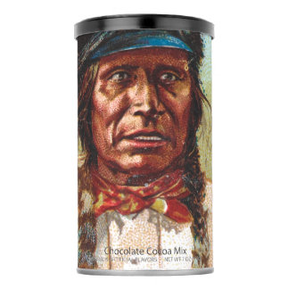 Hunkpapa Sioux Chief: Sitting Bull Hot Chocolate Drink Mix