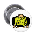 Hunky Monkey 2 Inch Round Button