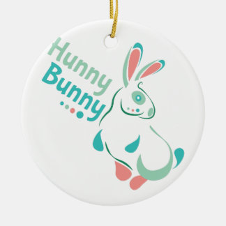 Hunny Bunny Ceramic Ornament