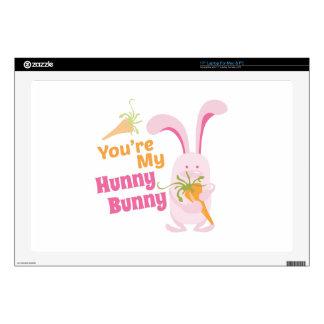 Hunny Bunny Laptop Skins