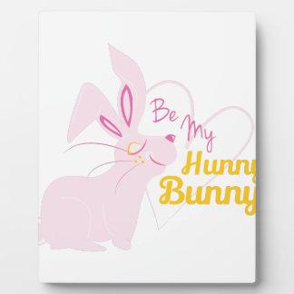 Hunny Bunny Plaque