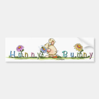 Hunny Bunny sticker bumper sticker