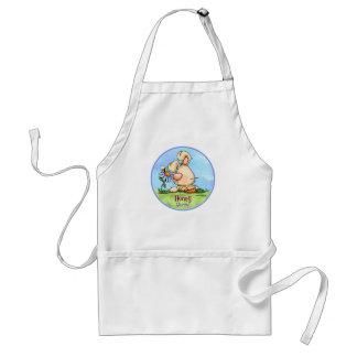 Hunny Bunny world apron