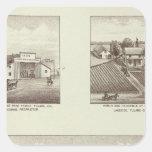Hunsaker ranch, Woodville Square Sticker