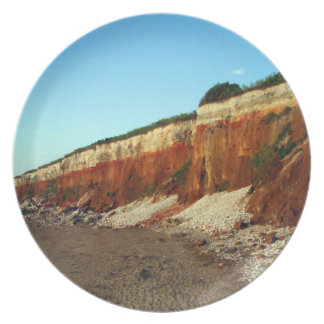 Hunstanton Cliff dinner/decorative plate