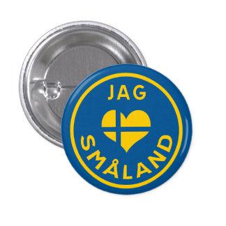 Hunt älskar for Småland - I love Småland Button