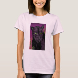 Hunt at Dusk womens baby doll tee lilac