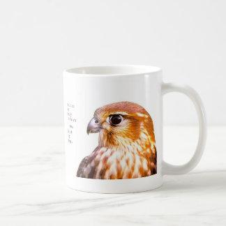 hunt by day classic white coffee mug