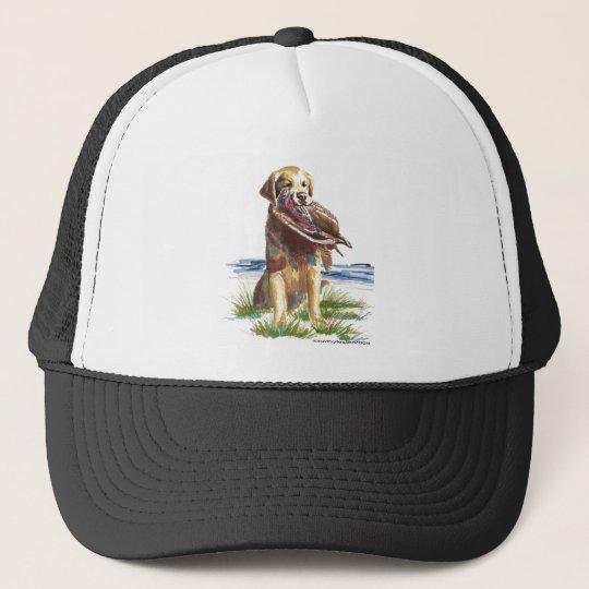 Hunt Golden Retriever Trucker Hat