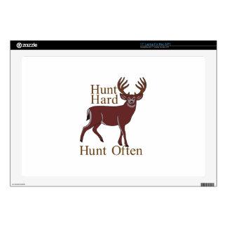 Hunt Hard Hunt Often Skins For Laptops