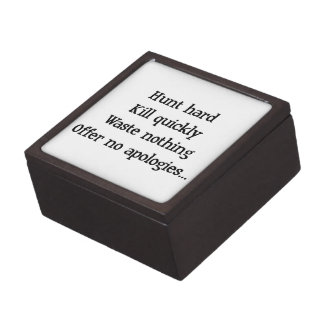 Hunt Hard Jewelry Box