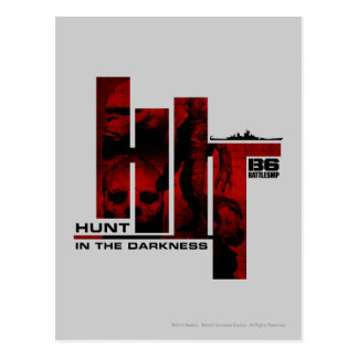 Hunt in the Darkness Postcard