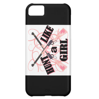 Hunt Like a Girl Pink Camo Rifle Case For iPhone 5C